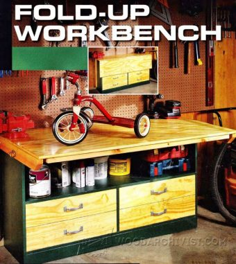 1477-Fold Up Workbench Plans