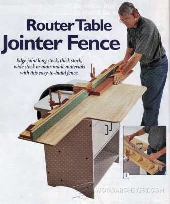 1486-Router Table Jointer Fence