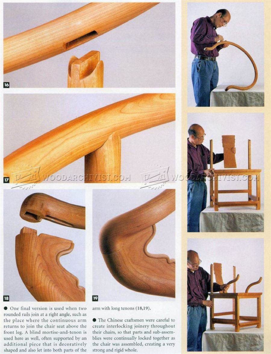 1504 Ming Dynasty Arm Chair Plans - Furniture Plans and Projects  sc 1 st  hedef - Blogger & Easy to Japanese stool plans ~ hedef