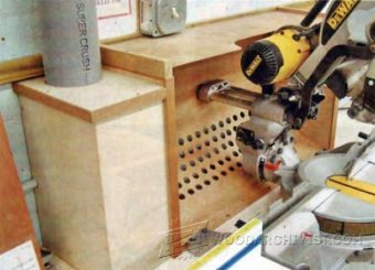 1515-Miter Saw Dust Collection Hood