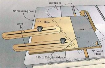 1525-Panel Tapering Jig