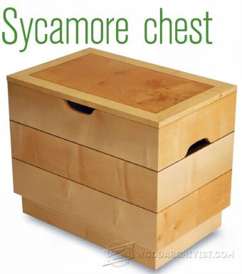 1529-Wooden Chest Plans