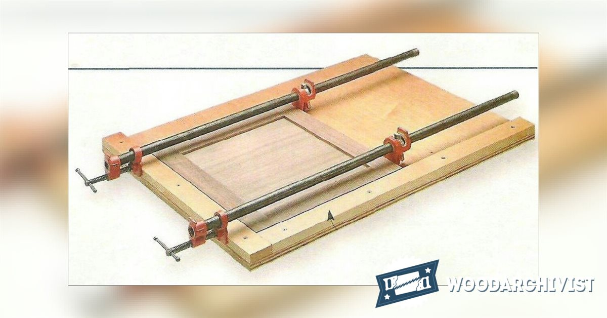 Frame And Panel Clamping Jig Woodarchivist
