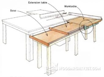 1544-DIY  Sliding Table