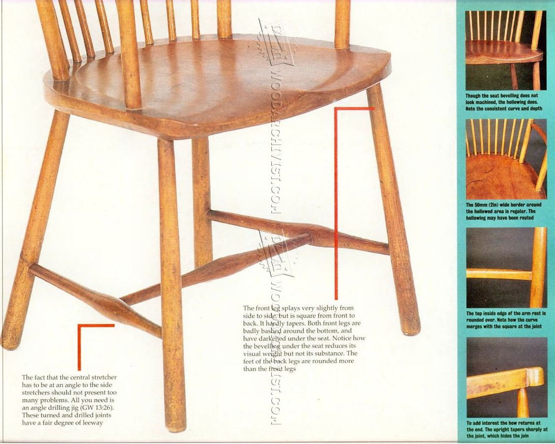 Arts And Crafts Reading Chair Plans Woodarchivist