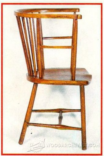 1546-Arts and Crafts  Reading Chair Plans