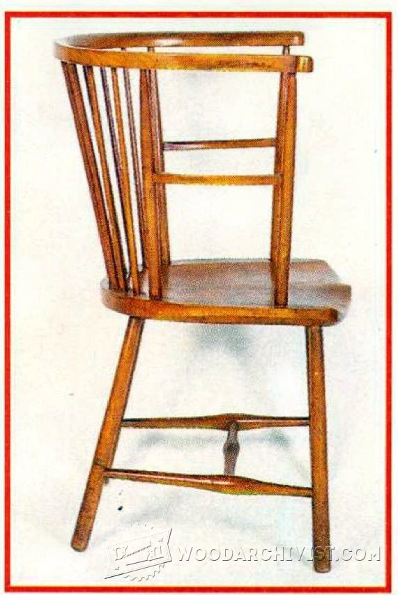1546 Arts And Crafts Reading Chair Plans Woodarchivist