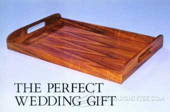 1547-Wooden Tray Plans