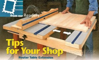 1551-Router Table Extension