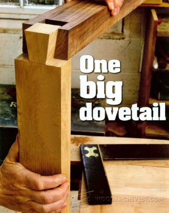 1554-Large  Dovetail Joints