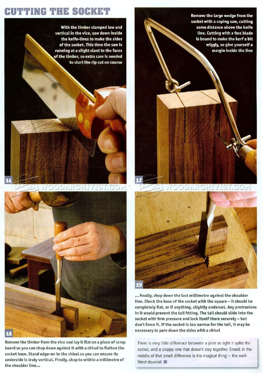 Large Dovetail Joints