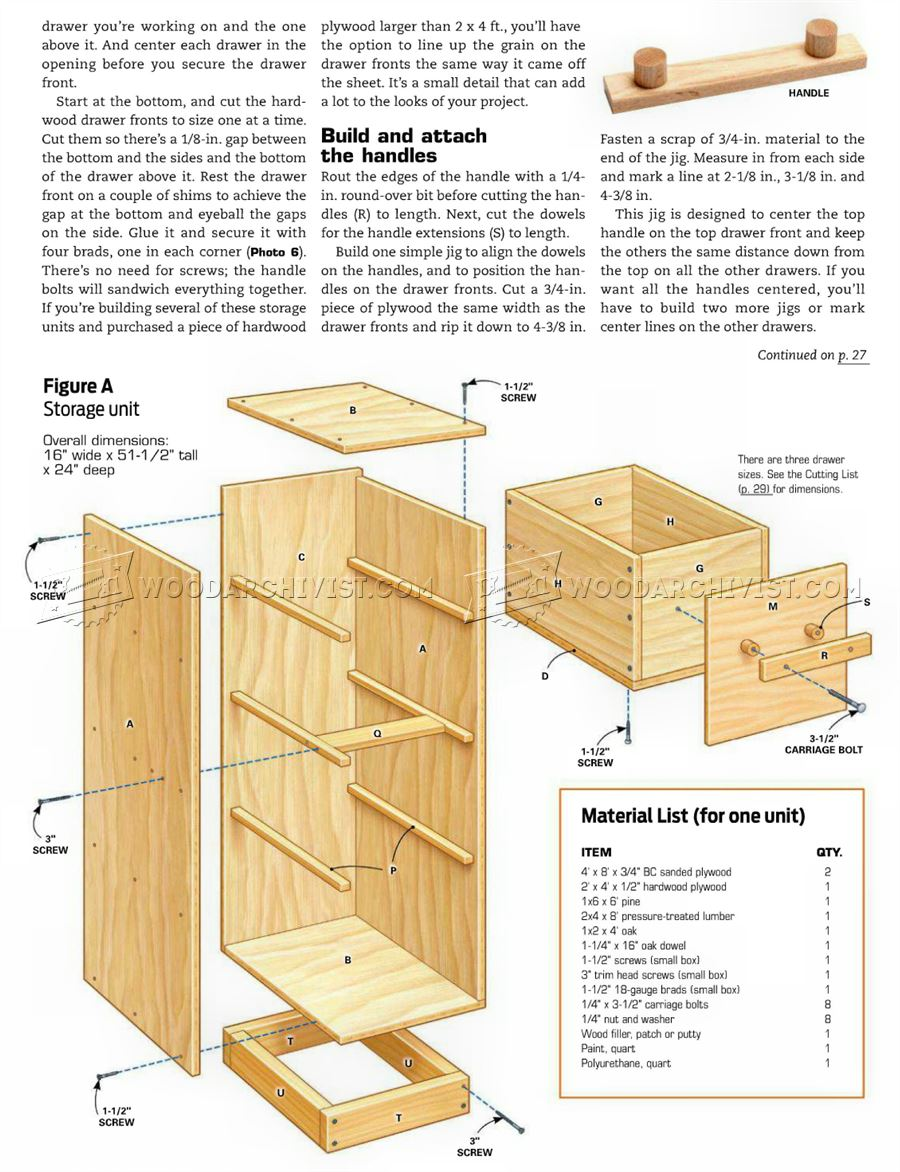 plans download explained pdf storage pin wood diy garage lathe tools