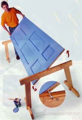 1568-Door Painting Jig