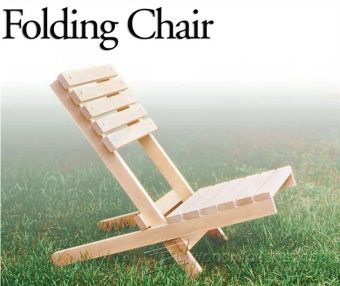 1572-Folding Chair Plans