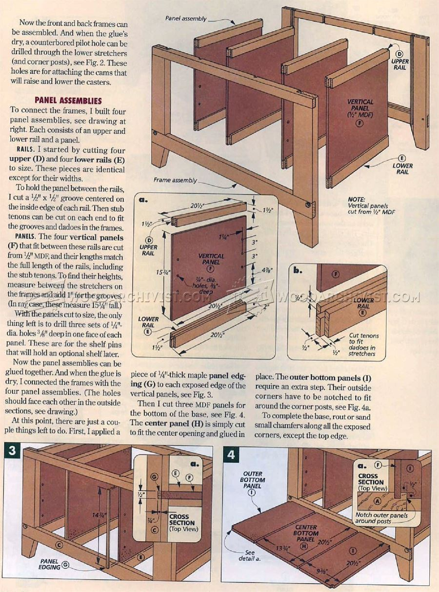 Table Saw Stand Plans