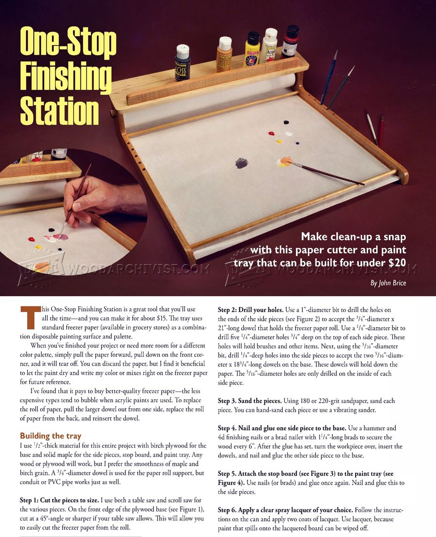 One-Stop Finishing Station