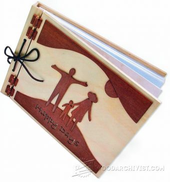 1587-Making Wooden Photo Album