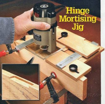 1591-Hinge Mortising Jig Plans