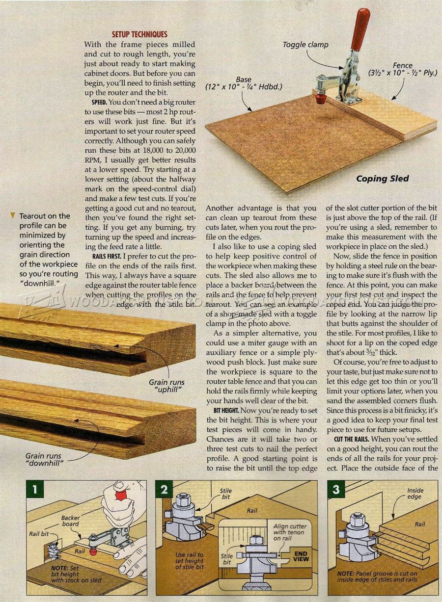 #1612 Making Doors With Rail and Stile Bits