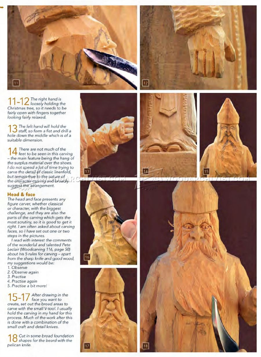 Carving St Nicholas Wood Carving Patterns Woodarchivist
