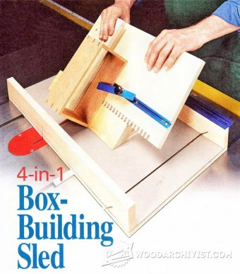 1617-Box Making Sled Plan