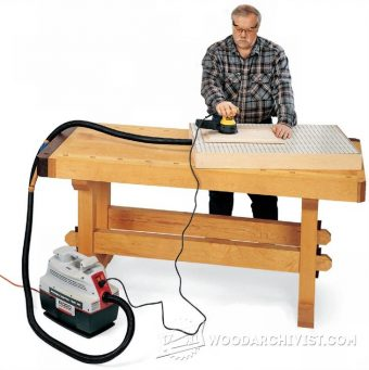 1622-Downdraft Sanding Box