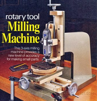 1624-DIY Milling Machine