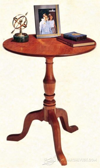 1626-Tea Table Plans