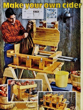 1630-DIY Cider Press