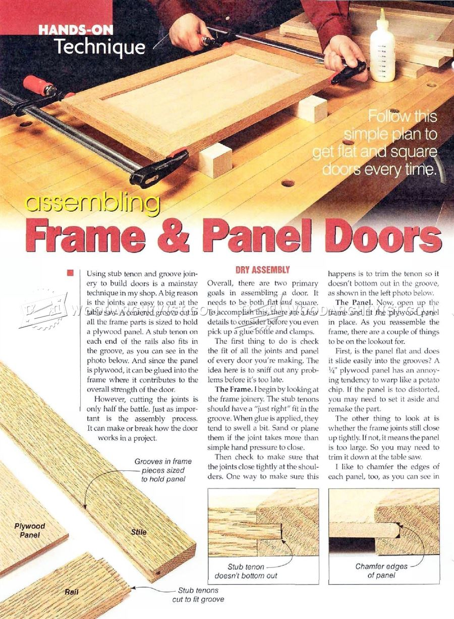 #1637 Frame and Panel Doors