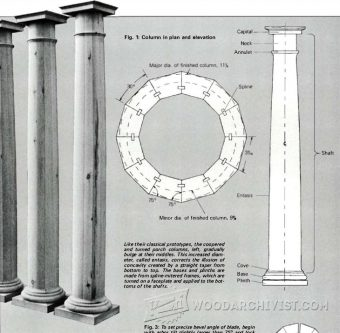 1638-Making Wooden Columns