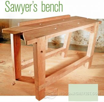 1642-Sawyers Bench Plans