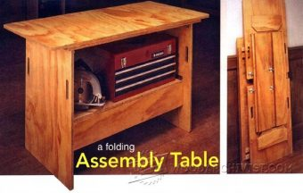 1653-Folding Assembly Table Plans