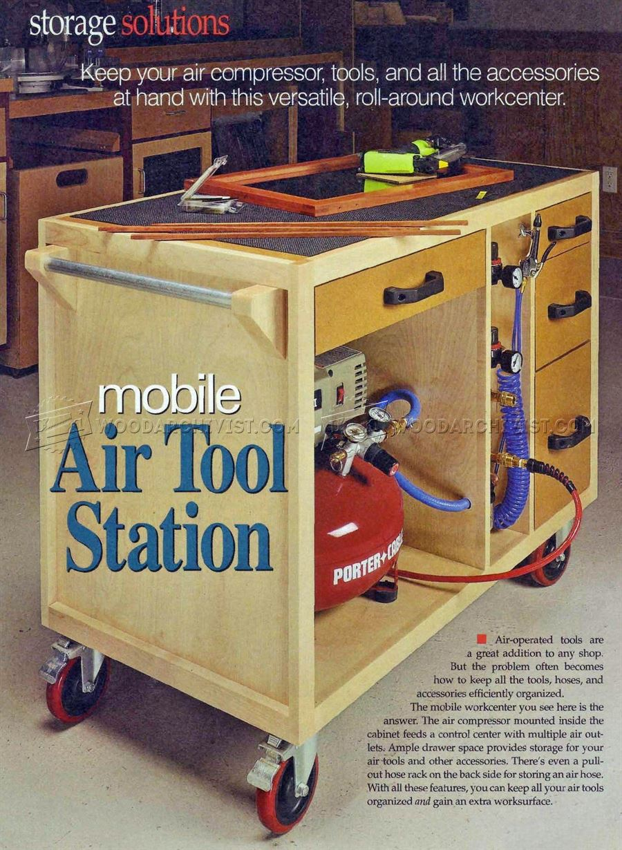 Mobile Air Tool Station Woodarchivist