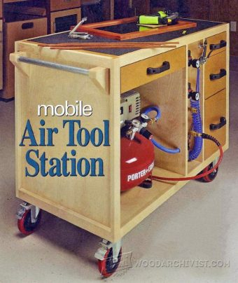 1658-Mobile Air Tool Station
