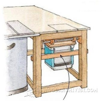 1663-Hide-Away Planer Table