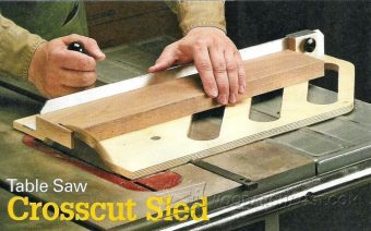 1671-Table Saw Crosscut Sled