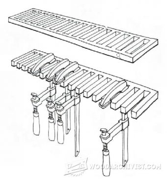 1681-Clamp Rack