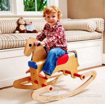 1685-Rocking Horse  Plans