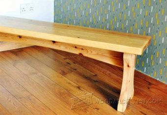 1689-Softwood Bench Plans