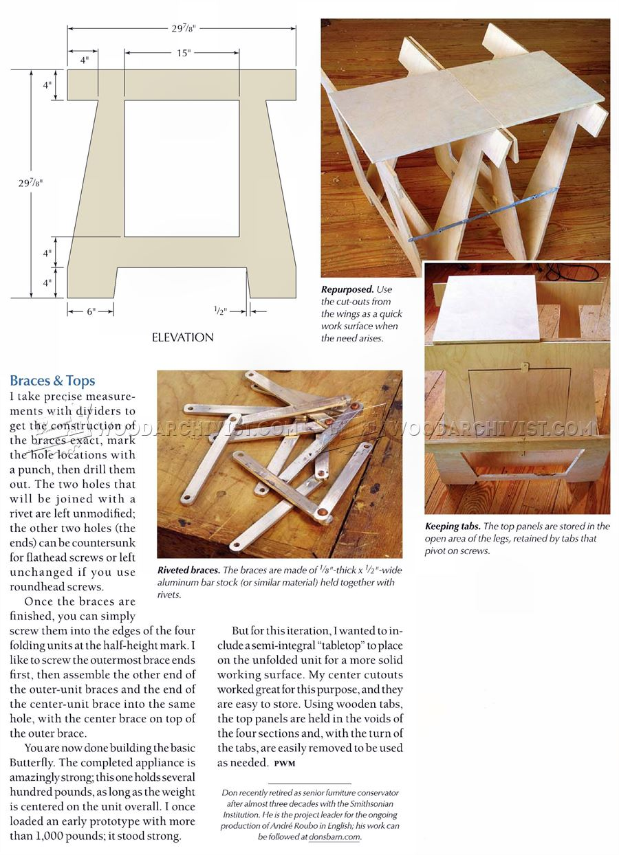 DIY Folding Sawhorse