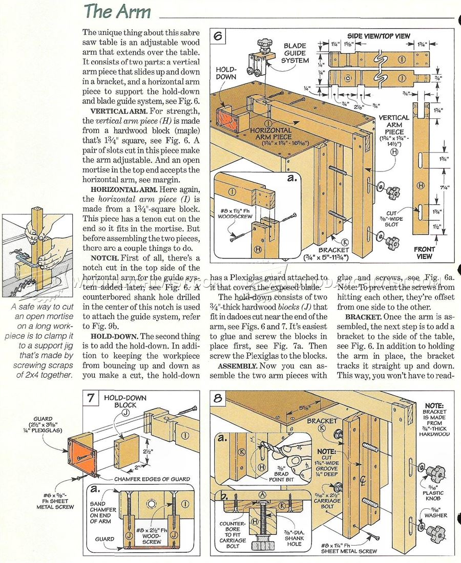 Jigsaw Table Plans