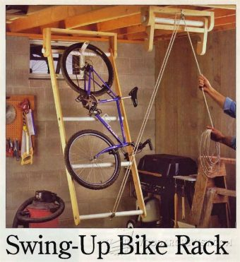 1714-Swing-Up Bike Rack