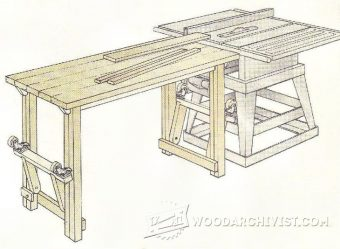 1727-Flip-Down Outfeed Table