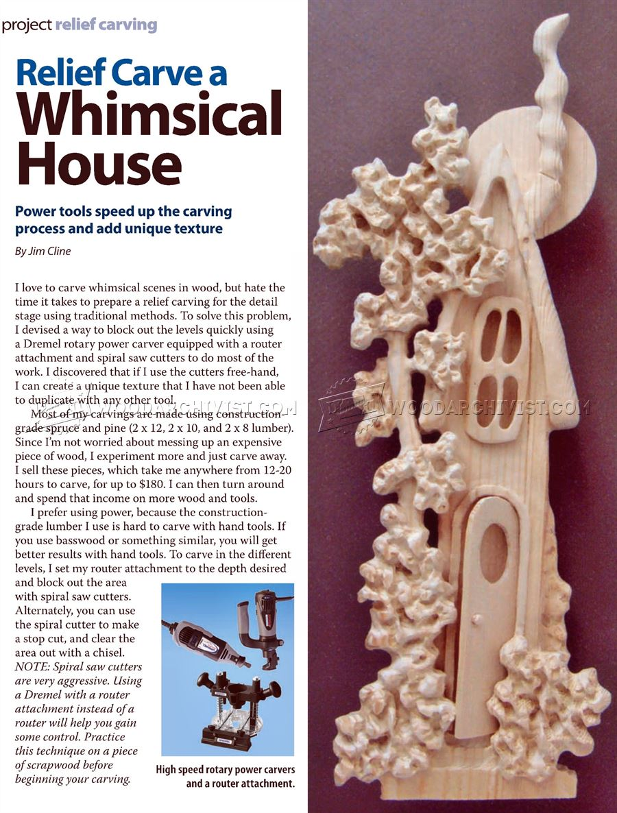 Relief Carving Patterns - Whimsial House