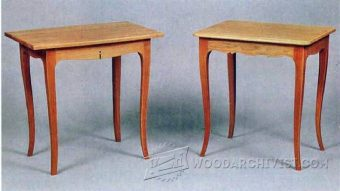 1732-Contemporary Table Plans