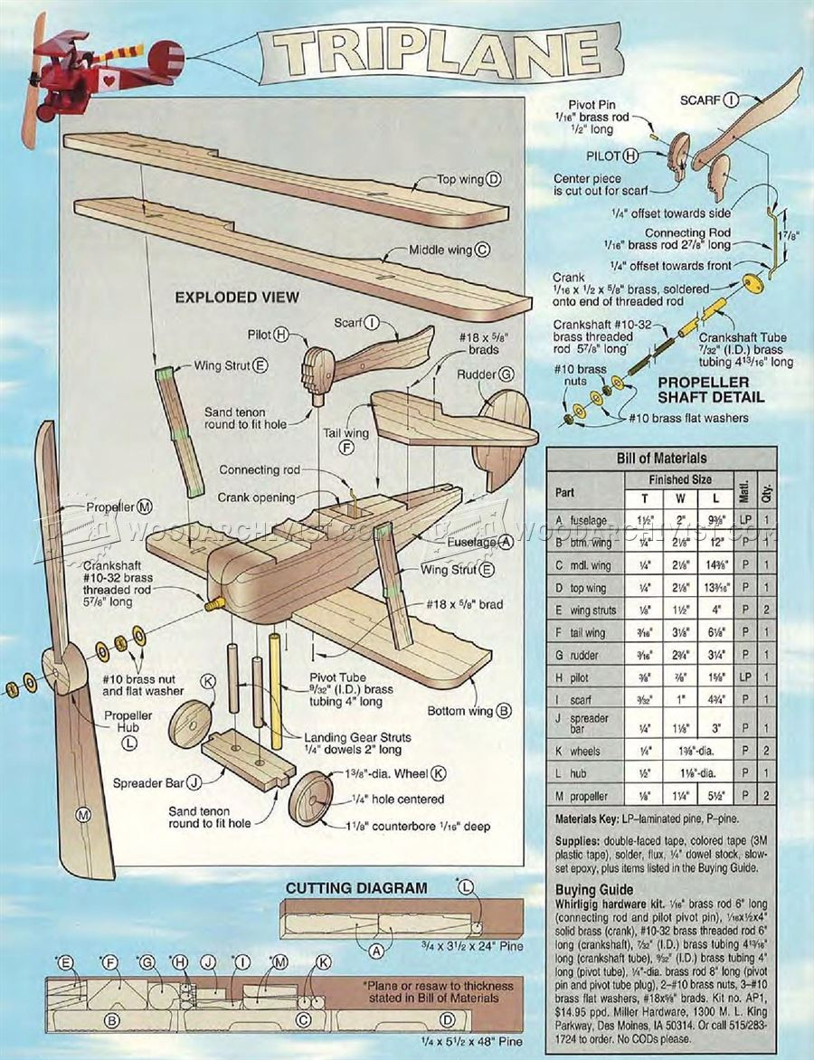 Free Wooden Whirligig Plans - Image Mag