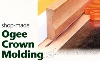 1736-Making Ogee Crown Molding