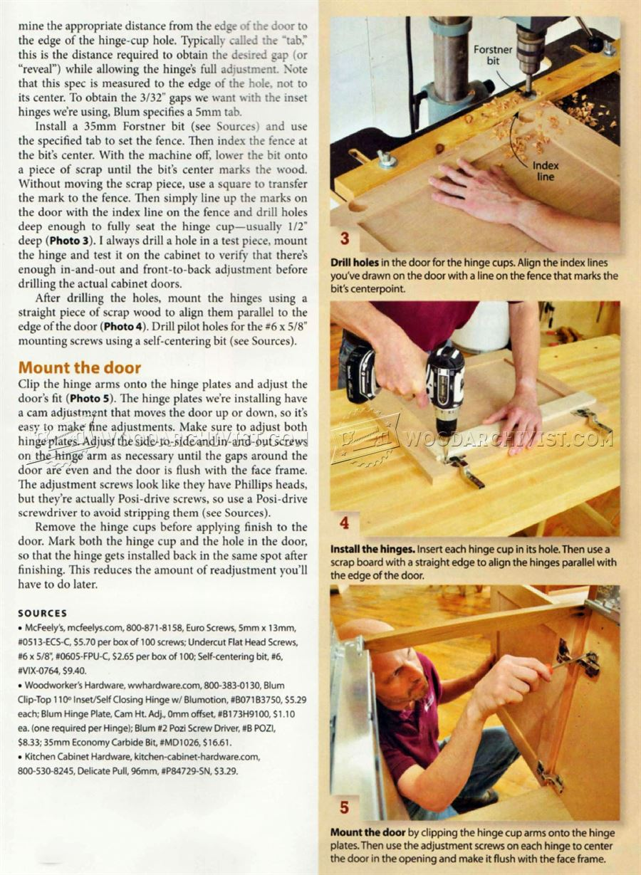 How to Install Cabinet Doors