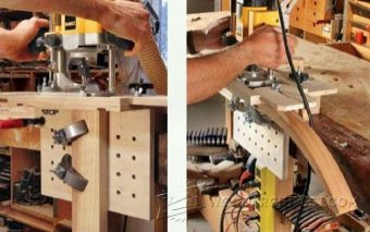 1742-Router Mortising Jig Plans